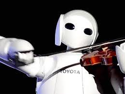 روبوت العزف على الكمان؟