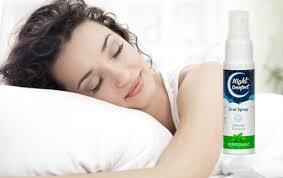 تجدر الإشارة إلى أن الراحة الليلية هي رذاذ عن طريق الفم موجود في