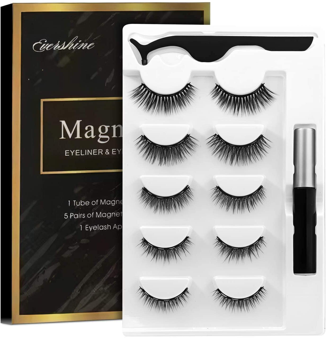 Magnetic Eyelashes -منتدى - Amazon - استعراض