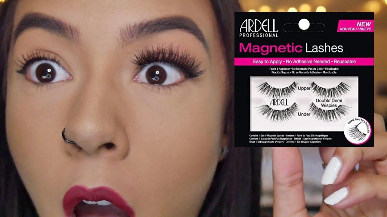 Magnetic Eyelashes -اختبار-تقييم - كيف تستعمل